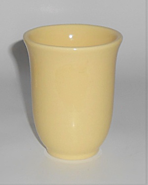 Franciscan Pottery El Patio Gloss Yellow Tumbler  (Image1)