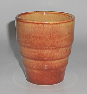 Franciscan Pottery El Patio Golden Glow Banded Tumbler