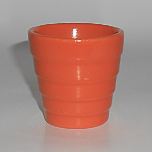 Franciscan Pottery Tropico Garden Ware Flame Orange Cac (Image1)