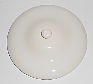 Franciscan Pottery El Patio Gloss White Handled Baker L