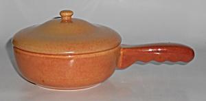 Franciscan Pottery El Patio Golden Glow Handled Baker  (Image1)