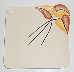 Vernon Kilns Pottery Chatelaine Platinum Salad Plate (Image1)