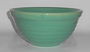 Bauer Pottery Ring Ware Jade #12 Mixing Bowl