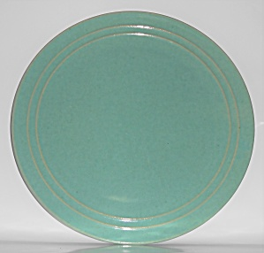 Pacific Pottery Hostess Ware 16'' Green Cake Plate
