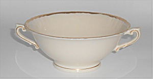 Syracuse China Old Ivory Federal Brantley W/gold Cream