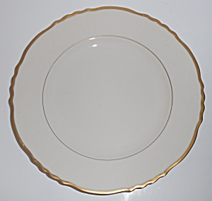 Syracuse China Old Ivory Federal Brantley W/gold Dinner