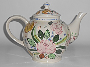 Blue Ridge Pottery Verna Teapot