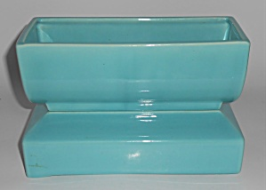Franciscan Pottery Mineral Maid Gloss Turquoise S-68 Pl