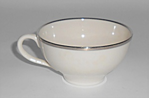 Franciscan Pottery Fine China Platinum Band Demitasse C