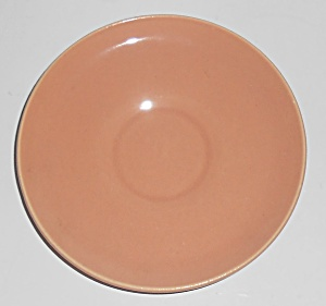 Franciscan Pottery El Patio Gloss Coral Demitasse Sau