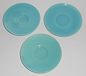 Franciscan Pottery El Patio Gloss Turquoise Demitasse S (Image1)
