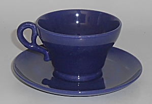 Franciscan Pottery El Patio Cobalt Cup/saucer Set