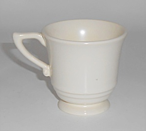Franciscan Pottery Montecito Ivory Demitasse Cup