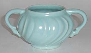 Franciscan Pottery Coronado Satin Aqua Sugar Bowl (Image1)