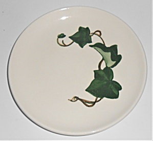 Metlox Pottery Poppy Trail California Ivy Bread Plate