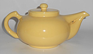 Metlox Pottery Poppy Trail Series 200 Yellow Teapot