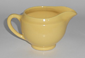 Metlox Pottery Poppy Trail Series 200 Yellow Creamer
