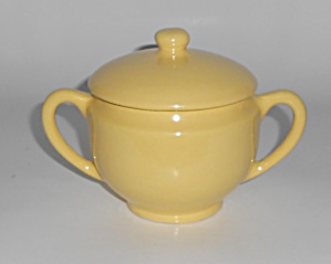 Metlox Pottery Poppy Trail Series 200 Gl Yellow Sugar