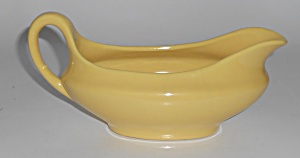 Metlox Pottery Poppy Trail Series 200 Gl Yellow Gravy