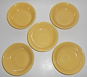 Metlox Pottery Poppy Trail Series 200 Gloss Yellow Set/ (Image1)
