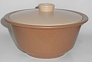 Metlox Pottery Poppy Trail California Tempo Casserole W