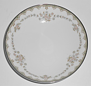 Noritake China Porcelain 5905 Garland W/gold Fruit Bowl