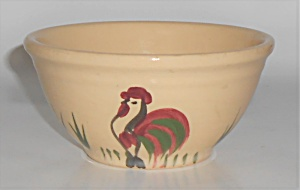 Watt Pottery Rooster #5 Mixing Bowl