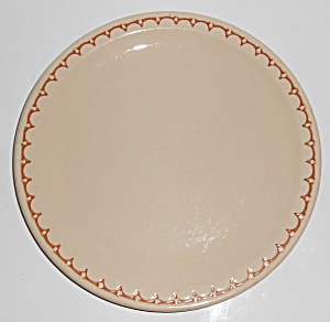 Syracuse Restaurant Ware China Scalloped Lunch Plate