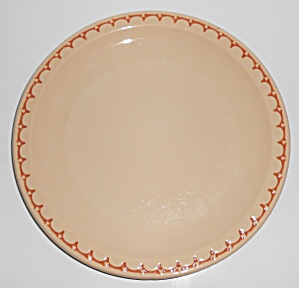 Syracuse Restaurant Ware China Scalloped Dinner Plate