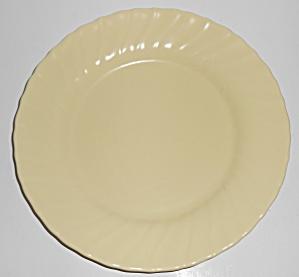 Franciscan Pottery Coronado Satin Yellow Lunch Plate (Image1)