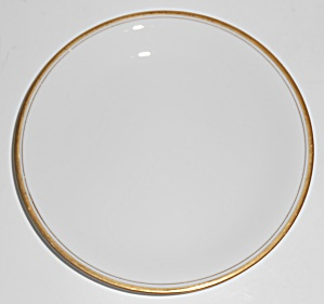 Noritake Porcelain China Gold Bands Bread Plate