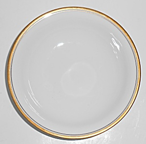 Noritake Porcelain China Gold Bands Fruit Bowl
