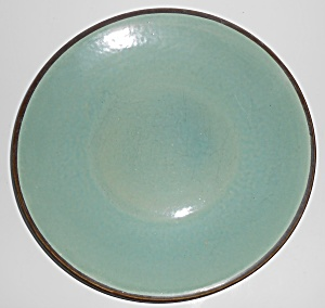 Zanesville Stoneware Pottery Country Fare Dinner Plate