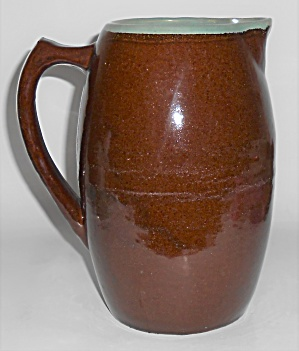 Zanesville Stoneware Pottery Country Fare Brown/green