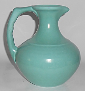Franciscan Pottery El Patio Matte Green/Aqua Coffee Car (Image1)