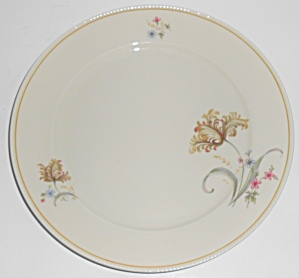 Jyoto China Floral W/gold Band Fairmont Dinner Plate