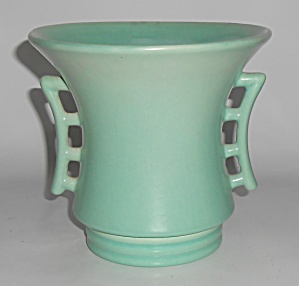 Rumrill Art Pottery #636 Light Matte Green Glaze Vase