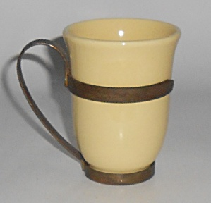 Franciscan Pottery El Patio Gloss Yellow Tumbler w/Wrou (Image1)