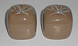 Winfield China Pottery Desert Dawn Salt & Pepper Set