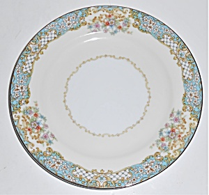 Noritake Porcelain China Berenda #4017 W/gold Bread Pl