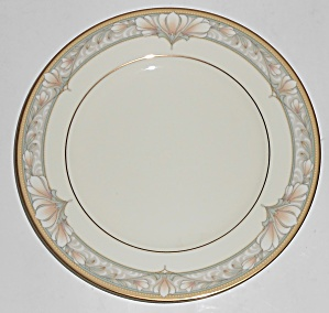 Noritake Porcelain China 9737 Barrymore W/gold Bread Pl