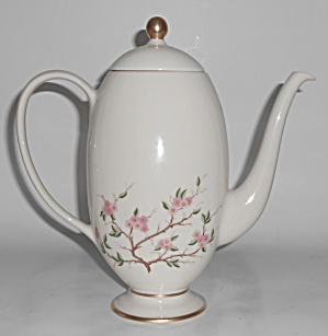 Franciscan Pottery Woodside Fine China Coffeepot W/lid