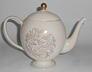 Franciscan Pottery China Rossmore Teapot W/lid