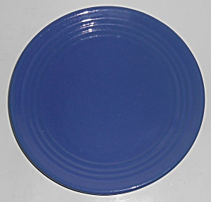 "Bauer Pottery Ring Ware Cobalt 9-5/8"" Plate"