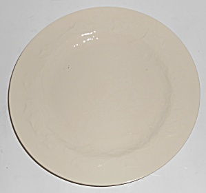 Franciscan Pottery Experimental Ivy Gloss White Plate