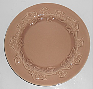 Franciscan Pottery Ivy Experimental Gloss Topaz Plate