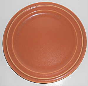 Pacific Pottery Hostess Ware Apricot Dinner Plate (Image1)