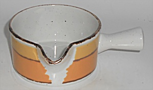 Midwinter Pottery Stonehenge Sun Gravy Bowl