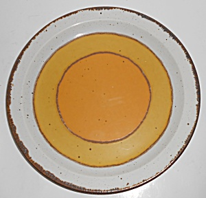 Midwinter Pottery Stonehenge Sun Dinner Plate