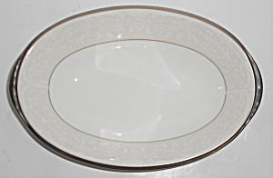 Noritake Porcelain China Silver Palace W Platinum Gravy